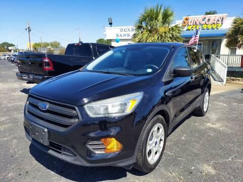 2017 Ford Escape for sale at Sun Coast City Auto Sales in Mobile AL