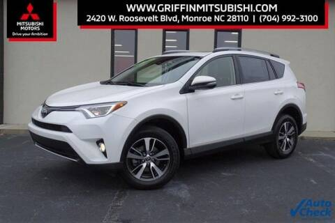 2018 Toyota RAV4 for sale at Griffin Mitsubishi in Monroe NC
