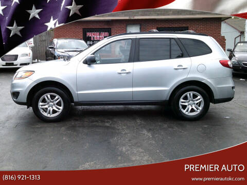 2010 Hyundai Santa Fe for sale at Premier Auto in Independence MO