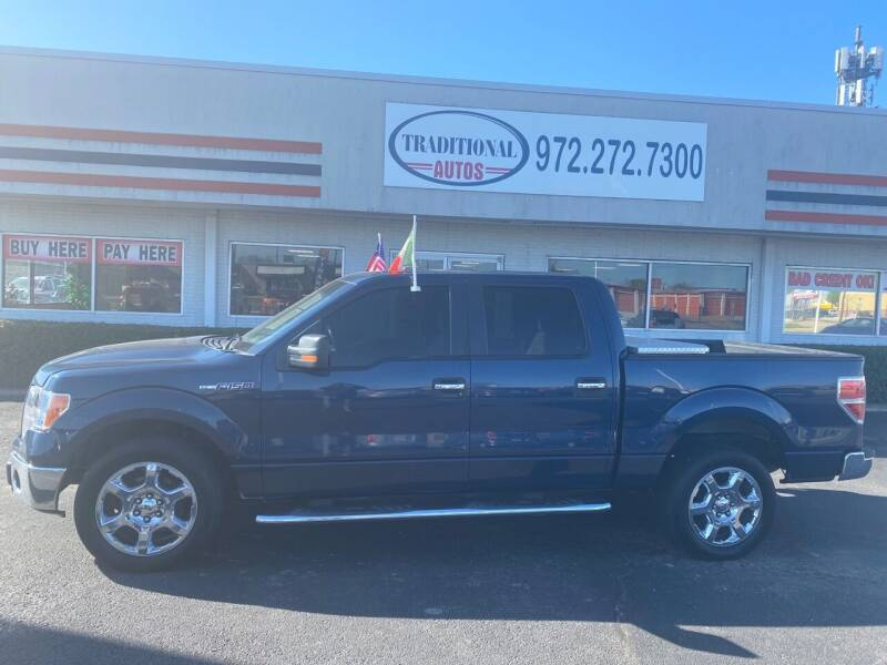 2013 Ford F-150 for sale at Traditional Autos in Dallas TX