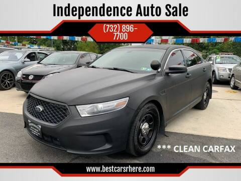 2013 Ford Taurus for sale at Independence Auto Sale in Bordentown NJ