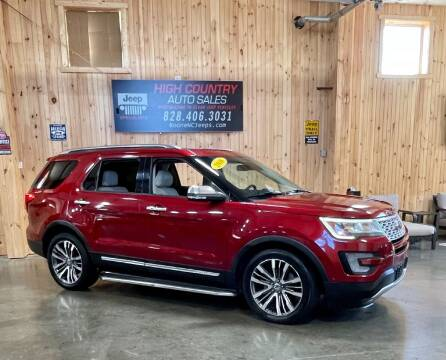 2016 Ford Explorer for sale at Boone NC Jeeps-High Country Auto Sales in Boone NC