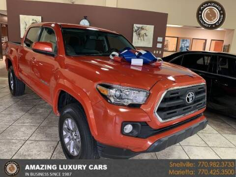 2016 Toyota Tacoma for sale at Amazing Luxury Cars in Snellville GA