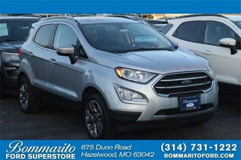 2020 Ford EcoSport for sale at NICK FARACE AT BOMMARITO FORD in Hazelwood MO