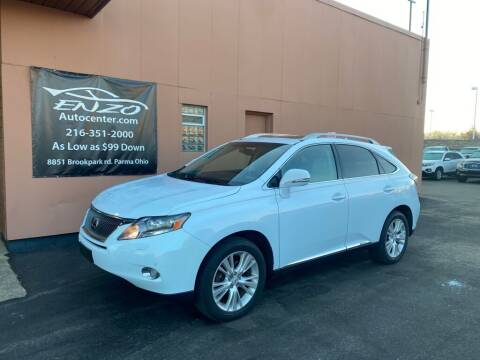 2010 Lexus RX 450h for sale at ENZO AUTO in Parma OH