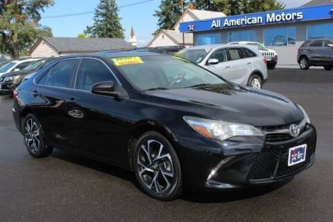 2016 Toyota Camry for sale at All American Motors in Tacoma WA