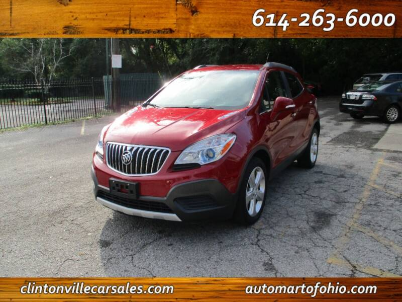 2016 Buick Encore for sale at Clintonville Car Sales - AutoMart of Ohio in Columbus OH
