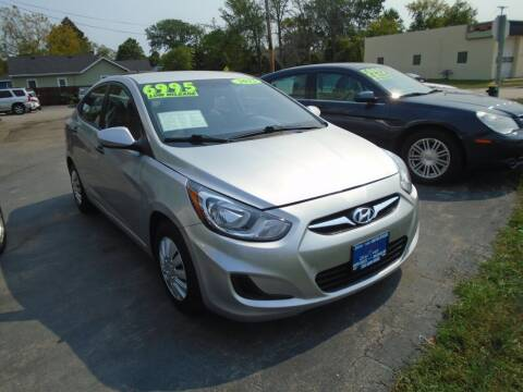 2012 Hyundai Accent for sale at DISCOVER AUTO SALES in Racine WI