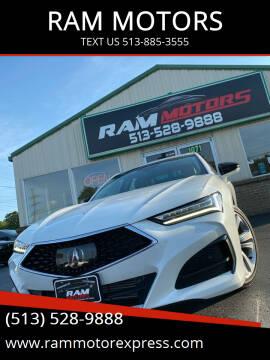 2021 Acura TLX for sale at RAM MOTORS in Cincinnati OH
