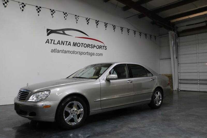 2005 Mercedes-Benz S-Class for sale at Atlanta Motorsports in Roswell GA