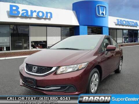 2014 Honda Civic for sale at Baron Super Center in Patchogue NY