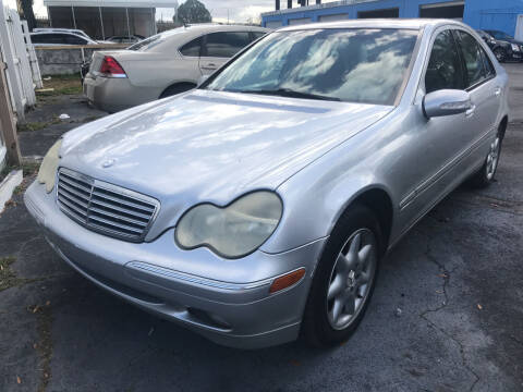 2002 Mercedes-Benz C-Class for sale at The Peoples Car Company in Jacksonville FL
