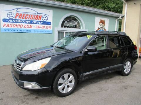2010 Subaru Outback for sale at Precision Automotive Group in Youngstown OH