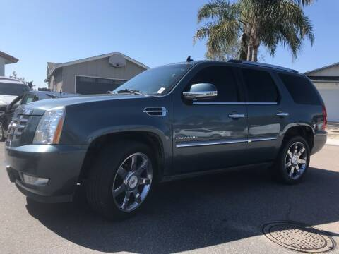 2010 Cadillac Escalade for sale at CALIFORNIA AUTO GROUP in San Diego CA