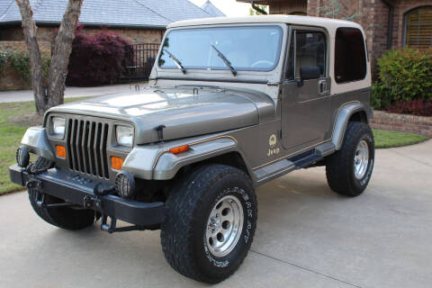 1989 Jeep Wrangler for sale at CANTWEIGHT CLASSICS in Maysville OK