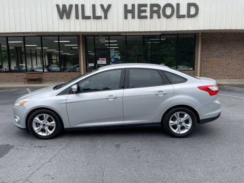 2014 Ford Focus for sale at Willy Herold Automotive in Columbus GA