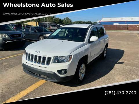 2016 Jeep Compass for sale at Wheelstone Auto Sales in La Porte TX