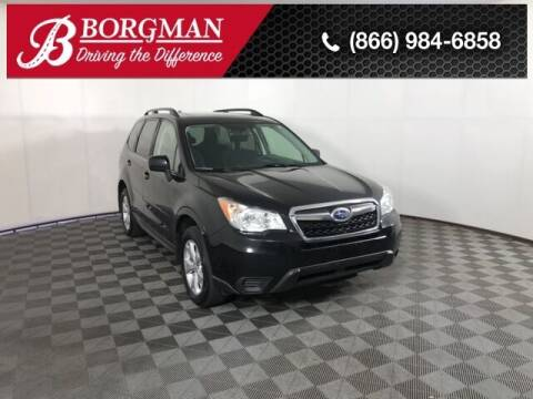 2016 Subaru Forester for sale at BORGMAN OF HOLLAND LLC in Holland MI