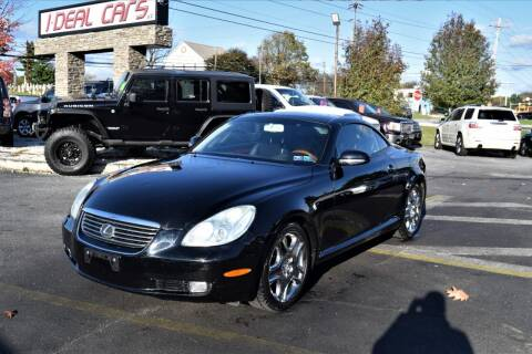 2002 Lexus SC 430 for sale at I-DEAL CARS in Camp Hill PA