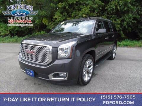 2016 GMC Yukon for sale at Fort Dodge Ford Lincoln Toyota in Fort Dodge IA