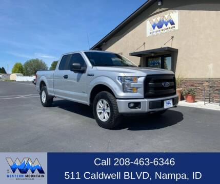 2016 Ford F-150 for sale at Western Mountain Bus & Auto Sales in Nampa ID
