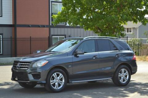 2012 Mercedes-Benz M-Class for sale at Skyline Motors Auto Sales in Tacoma WA