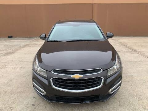2016 Chevrolet Cruze Limited for sale at ALL STAR MOTORS INC in Houston TX
