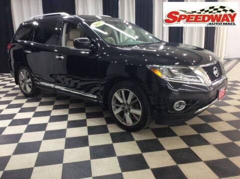 2015 Nissan Pathfinder for sale at SPEEDWAY AUTO MALL INC in Machesney Park IL