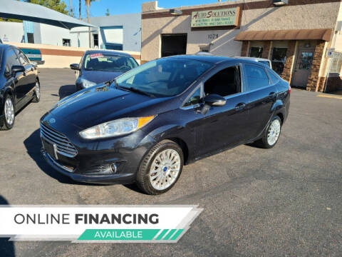 2015 Ford Fiesta for sale at Auto Solutions in Mesa AZ