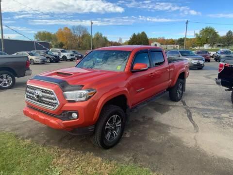 2017 Toyota Tacoma for sale at Paris Auto Sales & Service in Big Rapids MI