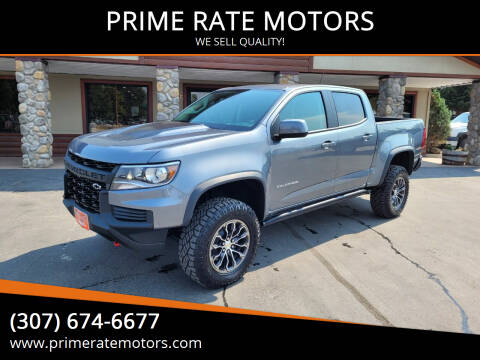 2021 Chevrolet Colorado for sale at PRIME RATE MOTORS in Sheridan WY