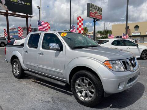 2019 Nissan Frontier for sale at MACHADO AUTO SALES in Miami FL