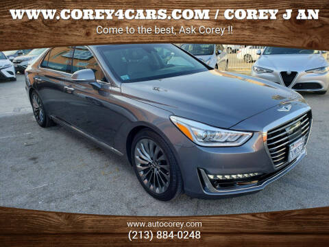 2017 Genesis G90 for sale at WWW.COREY4CARS.COM / COREY J AN in Los Angeles CA
