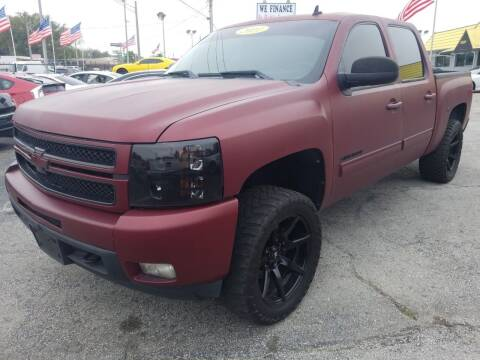 2011 Chevrolet Silverado 1500 for sale at Castle Used Cars in Jacksonville FL