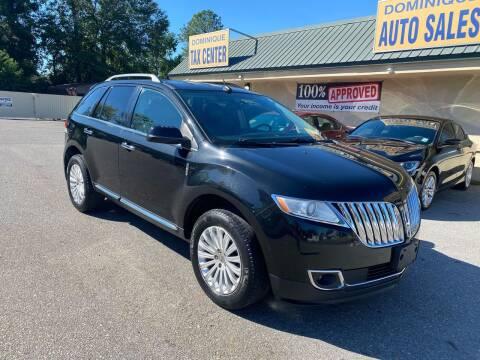 2014 Lincoln MKX for sale at Dominique Auto Sales in Opelousas LA