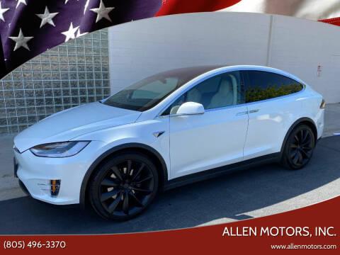 2018 Tesla Model X for sale at Allen Motors, Inc. in Thousand Oaks CA