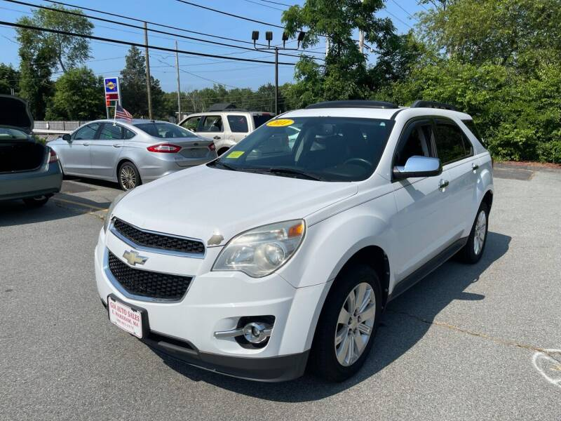 2011 Chevrolet Equinox for sale at Gia Auto Sales in East Wareham MA