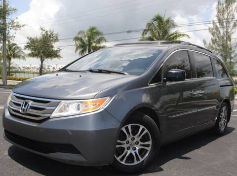 2012 Honda Odyssey for sale at Maxicars Auto Sales in West Park FL