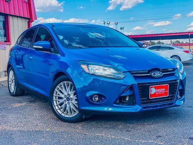 2014 Ford Focus for sale at MAGNA CUM LAUDE AUTO COMPANY in Lubbock TX