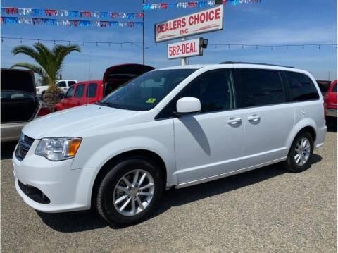 2018 Dodge Grand Caravan for sale at Dealers Choice Inc in Farmersville CA