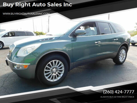 2010 Buick Enclave for sale at Buy Right Auto Sales Inc in Fort Wayne IN