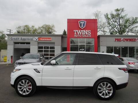 2016 Land Rover Range Rover Sport for sale at Twins Auto Sales Inc in Detroit MI
