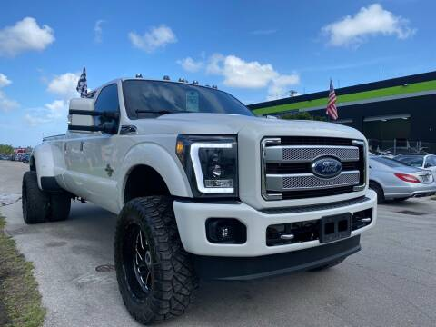 2016 Ford F-350 Super Duty for sale at GCR MOTORSPORTS in Hollywood FL