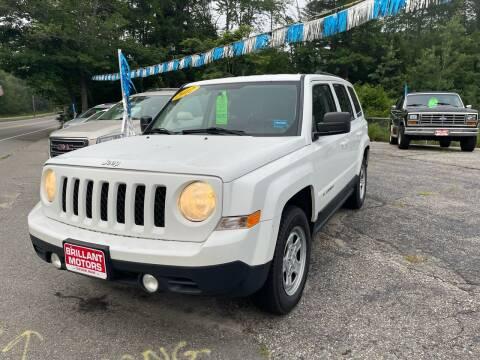 2012 Jeep Patriot for sale at Brilliant Motors in Topsham ME