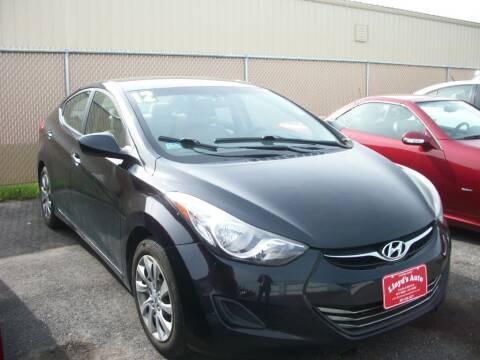 2012 Hyundai Elantra for sale at Lloyds Auto Sales & SVC in Sanford ME