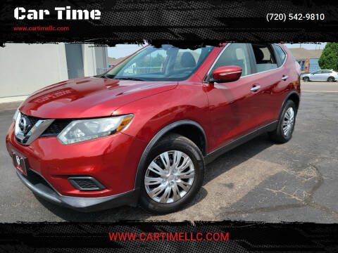 2015 Nissan Rogue for sale at Car Time in Denver CO