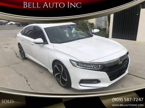2018 Honda Accord for sale at Bell Auto Inc in Long Beach CA