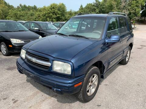 2004 Chevrolet Tracker for sale at Best Buy Auto Sales in Murphysboro IL
