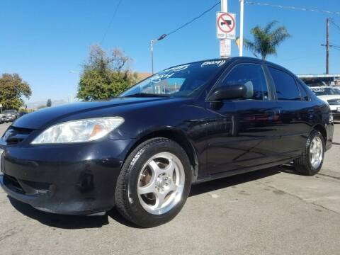 2004 Honda Civic for sale at Olympic Motors in Los Angeles CA