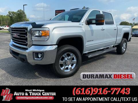 2015 GMC Sierra 2500HD for sale at West Michigan Auto and Truck Center in Cedar Springs MI